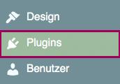 plugins menuebereich