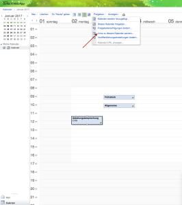 Outlook-Kalender für Termine-Plugin veröffentlichen
