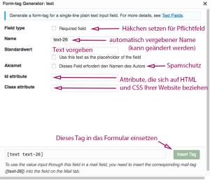 form tag generator