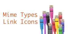 "Zur Seite ""Mime Types Link Icons"""