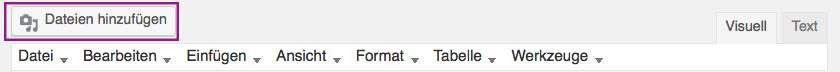 """button """"dateien hinzufügen"""""""
