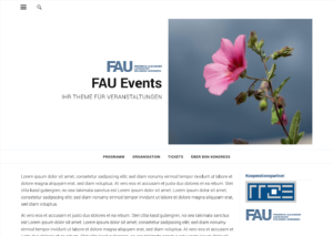 Screenshot FAU-Events Startseite square