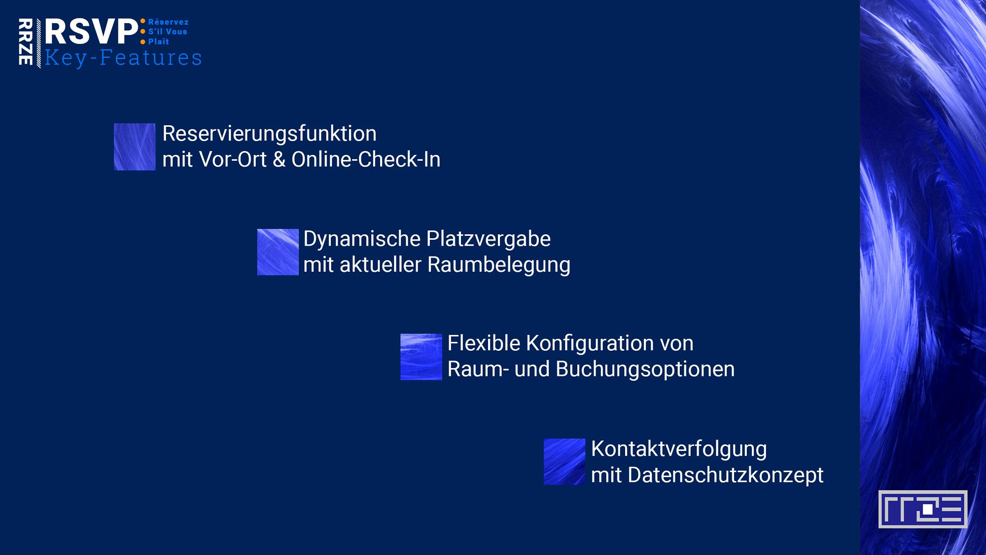 RSVP Funktionsübersicht